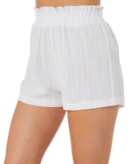 WHITE WOMENS CLOTHING SWELL SHORTS - S8221231WHITE