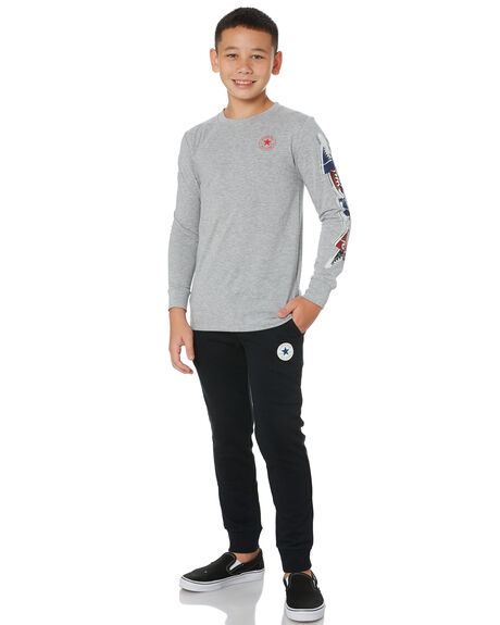 DK GREY HEATHER OUTLET KIDS CONVERSE CLOTHING - R96A244042