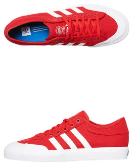 SCARLET WHITE WOMENS FOOTWEAR ADIDAS ORIGINALS SNEAKERS - SSCQ1112SCARW