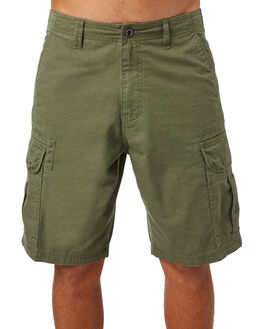 WORN OLIVE MENS CLOTHING OAKLEY SHORTS - 442126AU79B