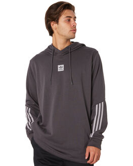 SOLID GREY GRANITE MENS CLOTHING ADIDAS JUMPERS - DU8329GRY