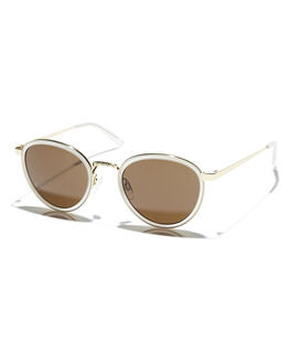 CRYSTAL MATTE GOLD UNISEX ADULTS EPOKHE SUNGLASSES - 0582-CRYST