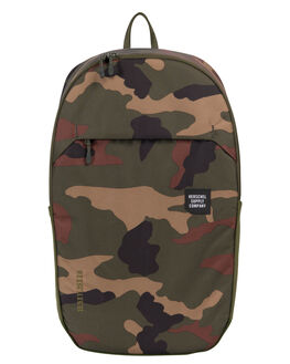 WOODLAND CAMO MENS ACCESSORIES HERSCHEL SUPPLY CO BAGS + BACKPACKS - 10322-01825-OSWOOD