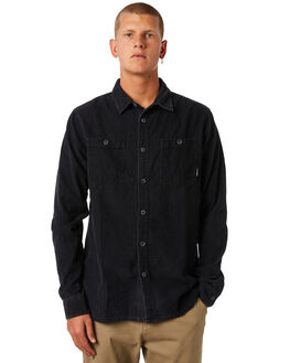 BLACK MENS CLOTHING BILLABONG SHIRTS - 9581212BLK