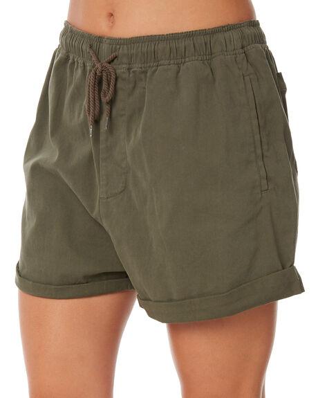 RIFLE GREEN WOMENS CLOTHING RUSTY SHORTS - WKL0647RFG