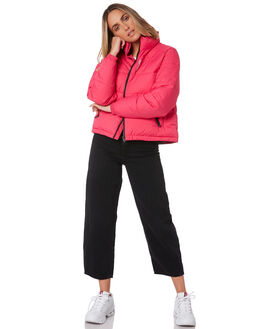 HOT PINK WOMENS CLOTHING HUFFER JACKETS - WPJA01S1700HPINK
