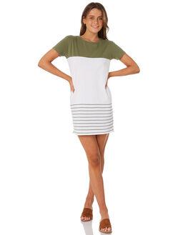 KHAKI WOMENS CLOTHING SWELL DRESSES - S8184442KHAKI