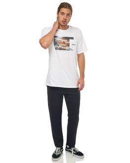 BLACK MENS CLOTHING HURLEY PANTS - 924824010