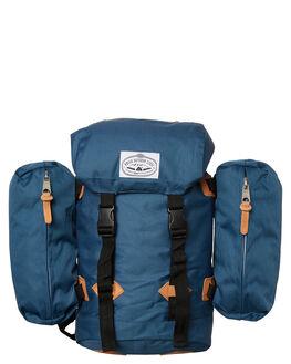 PETROL BLUE MENS ACCESSORIES POLER BAGS - 13100013PTB