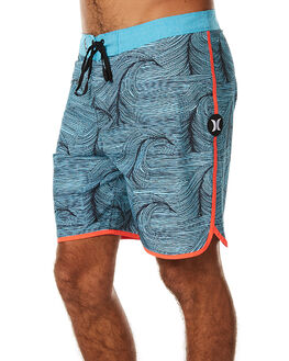 CHLORINE BLUE MENS CLOTHING HURLEY BOARDSHORTS - MBS000749047B