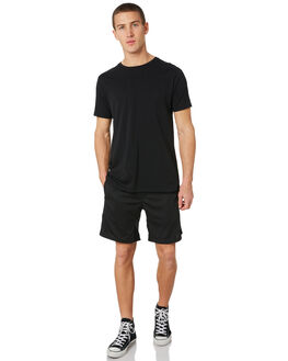 BLACK MENS CLOTHING ZANEROBE SHORTS - 627-FTBLK