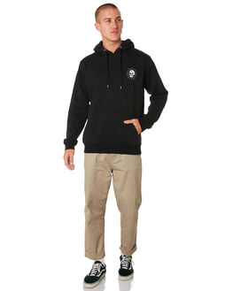 BLACK MENS CLOTHING SWELL JUMPERS - S5193450BLACK