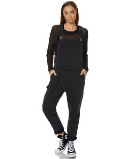AGED BLACK WOMENS CLOTHING ASSEMBLY PLAYSUITS + OVERALLS - AW-W217110ABLK