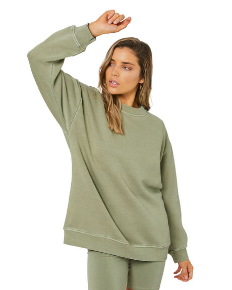 DEEP SAGE WOMENS CLOTHING NUDE LUCY JUMPERS - NU24217DSAGE