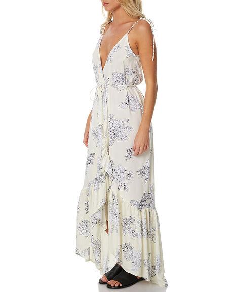 CREAM FLORA WOMENS CLOTHING RUE STIIC DRESSES - BC15CRE