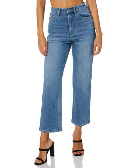 UNION BLUE WOMENS CLOTHING RIDERS BY LEE JEANS - R-551733-434