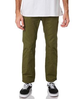 GREEN MENS CLOTHING NUDIE JEANS CO PANTS - 120154GRN
