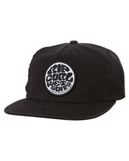 WASHED BLACK KIDS BOYS RIP CURL HEADWEAR - KCALP18264
