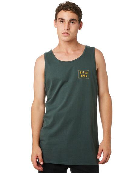 DARK FOREST MENS CLOTHING BILLABONG SINGLETS - 9582508DKFST