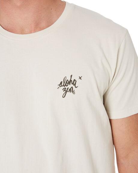 NATURAL MENS CLOTHING ALOHA ZEN TEES - AZ454NAT