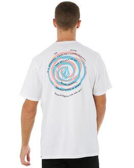 WHITE MENS CLOTHING VOLCOM TEES - A5011870WHT