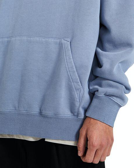 BLUE MENS CLOTHING BLACK NOISE WHITE RAIN HOODIES + SWEATS - 35963400022