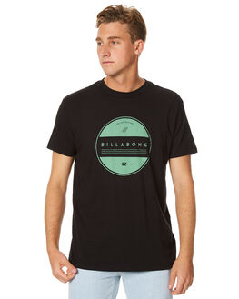 BLACK MENS CLOTHING BILLABONG TEES - 9571074XBLK
