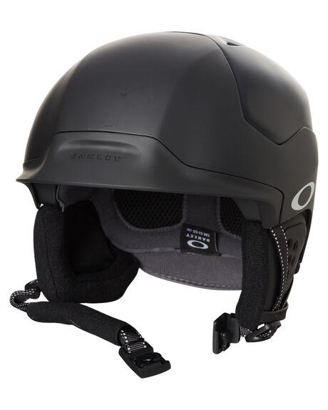 MATTE BLACK BOARDSPORTS SNOW OAKLEY PROTECTIVE GEAR - 99430-02K