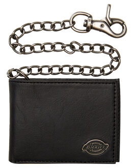 BLACK MENS ACCESSORIES DICKIES WALLETS - 31DI1304BK