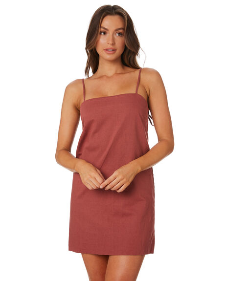HENNA WOMENS CLOTHING NUDE LUCY DRESSES - NU23729HEN