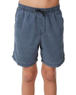 DEEP BLUE KIDS BOYS BILLABONG BOARDSHORTS - 8572439DBLU