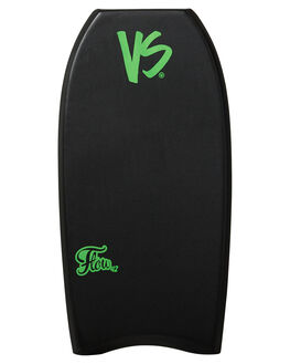 BLACK FLURO GREEN BOARDSPORTS SURF VS BODYBOARDS BOARDS - V19FLOW42BLBLKFG