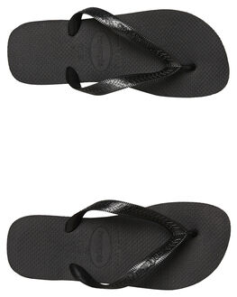 BLACK MENS FOOTWEAR HAVAIANAS THONGS - 40000290090