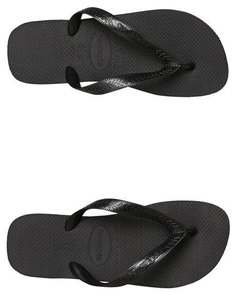 BLACK MENS FOOTWEAR HAVAIANAS THONGS - 40000290090