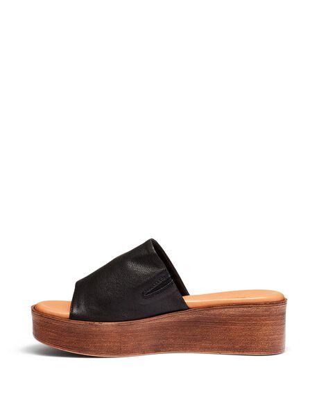 BLACK WOMENS FOOTWEAR JUST BECAUSE HEELS - SOLE-JB0537BLK