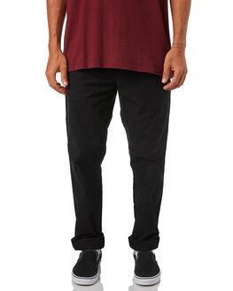 BLACK MENS CLOTHING CARHARTT PANTS - I021155-89BLK
