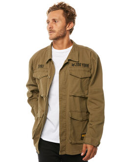ARMY OUTLET MENS ZOO YORK JACKETS - ZY-MJA8107ARMY