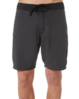 BLACK MENS CLOTHING RVCA BOARDSHORTS - R182401BLK