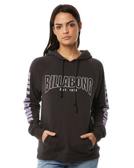 BLACK WOMENS CLOTHING BILLABONG JUMPERS - 6585738BLK
