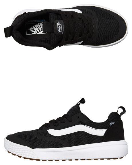 BLACK WHITE MENS FOOTWEAR VANS SNEAKERS - SSVNA3MVUY28BLKM