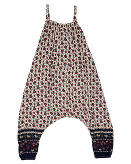 SOUK BORDER MAROON KIDS TODDLER GIRLS SWEET CHILD OF MINE PLAYSUITS + OVERALLS - HARPAPLAY-SOU
