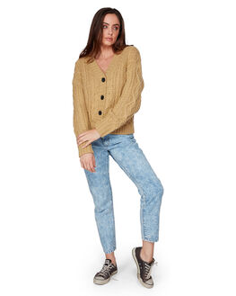 GRASS ROOTS WOMENS CLOTHING BILLABONG KNITS + CARDIGANS - BB-6507792-GRR