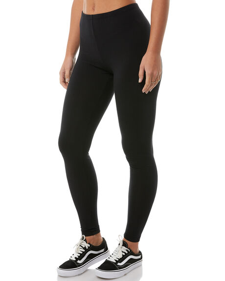 BLACK WOMENS CLOTHING BILLABONG PANTS - 6585417BLK