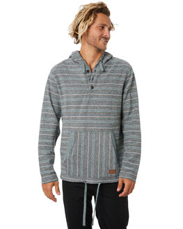FOREST GREEN MENS CLOTHING RIP CURL JUMPERS - CFEQT10056