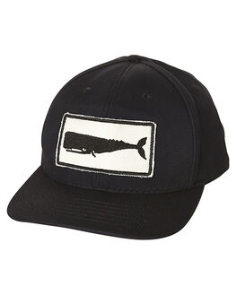 BLACK MENS ACCESSORIES MOLLUSK HEADWEAR - MF14045BLK