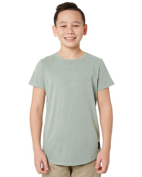 GREEN KIDS BOYS ST GOLIATH TOPS - 2421038GRN