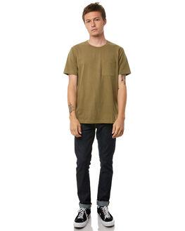 BEECH GREEN MENS CLOTHING NUDIE JEANS CO TEES - 131532C32