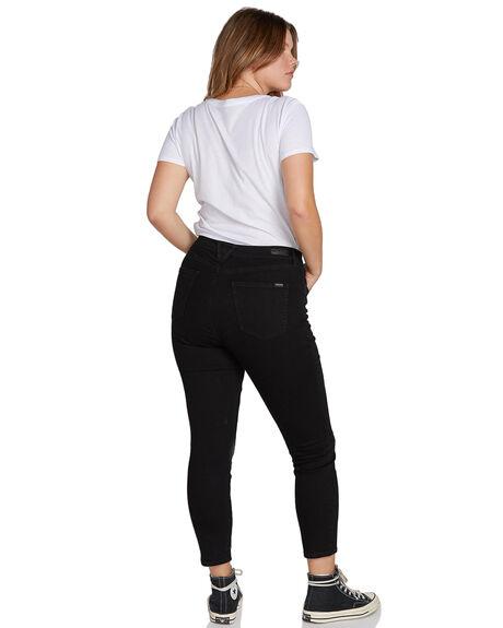 PREMIUM WASH BLACK WOMENS CLOTHING VOLCOM JEANS - B1931900PBLK