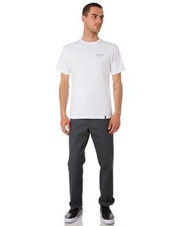 WHITE MENS CLOTHING HUF TEES - TS00907-WHITE