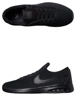 BLACK ANTHRACITE MENS FOOTWEAR NIKE SKATE SHOES - 882097-003